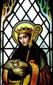 Kin of St Edwin king Northumbria, Saint Hilda became a nun at 33 ...