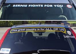 Custom Stickers For My Car Proud To Show My Support Part 2 Sandersforpresident