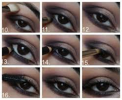 smokey eye makeup tutorials for eyes