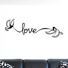 Love Doves Quote Wall Sticker Decal World Of Wall Stickers