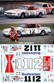 1984 Budweiser Kfc 11 12 Budweiser Kfc Monte Carlo Darrell Waltrip Or Neil Bonnett 1 25