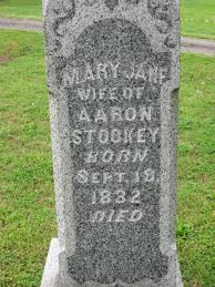 Mary Jane Holcomb Stookey (1832-1899) - Find A Grave Memorial