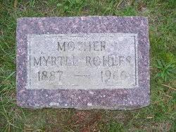 Myrtle Bennett Rohlfs (1887-1966) - Find A Grave Memorial