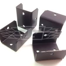Pack Of 10 33mm Brown Fence Trellis Clips Bracket Panel Fixing Garden Post 5023353083891 Ebay
