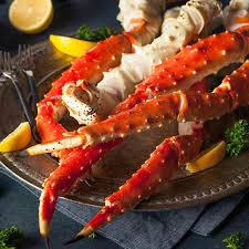 King crab legs ...