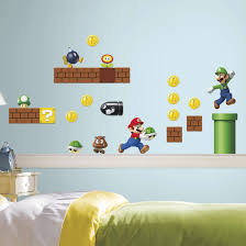 Room Mates Nintendo 45 Piece Super Mario Wall Decal Reviews Wayfair