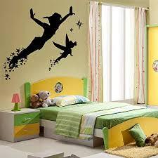 Amazon Com Peter Pan Elf Wall Decal Kids Bedroom Nursery Cartoon Boys Girls Vinyl Wall Sticker Lovely Wall Art Decals Home Kitchen