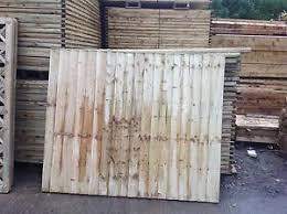 5ft Fully Framed Feather Edge Tanalised Heavy Duty Garden Fence Panel 6x5 Ebay