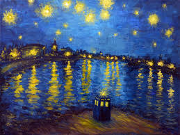 doctor who starry night wallpaper 5