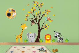 Jungle Wall Stickers Safari Wall Decals Nursery Murals Baby Room Nurserydecals4you