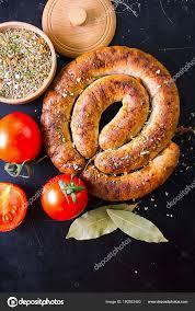 homemade sausage seasoning table