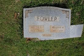 """Martha Catherine """"Mattie"""" West Fowler (1866-1908) - Find A Grave Memorial"""
