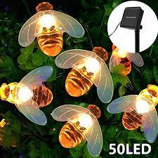 8 Kinds Of Lighting Modes Environmental Protection Solar Garden Lights Honey Bee Fairy String Lights 7m 24ft 8 Mode Waterproof Outdoor Indoor Garden Lighting For Flower Fence Lawn Patio Festoon Summer Party Christmas Lazada