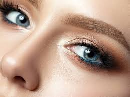 eyeshadow tutorial for blue eyes with