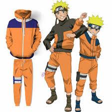 Anime Cosplay Naruto Cosplay Costumes Juvenile Uzumaki Naruto Hoodie  Sweatshirt Jacket Pants Men Women Clothing Set Anime Costumes