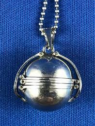 ball locket pendant fine jewelry