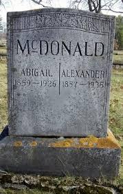 Abigail McDonald (1859-1926) - Find A Grave Memorial