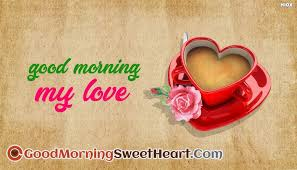 good morning sweetheart images pictures