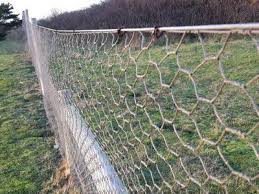 Hexagonal Wire Mesh Fence Also Called Hexagonal Wire Netting Or Chicken Wire Mesh Is Made From Stainless Steel Or High Wire Mesh Fence Mesh Fencing Wire Mesh