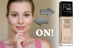 maybelline fit me dewy luminous smooth