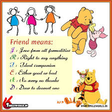 happy friendship day my sweet friend smileworld