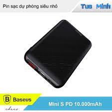 Pin sạc dự phòng 10.000mAh - Baseus Mini S PD Edition Mini Led ...