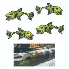 Kayak Sticker Fish Bone Decal Canoe Diy Fishing Car Window Graphics Atv Accessories Online Atv Accessories Uk From Tishita 8 45 Dhgate Com