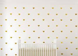 Gold Vinyl Hearts Gold Heart Decals Heart Wall Decal Gold Vinyl Heart Decals Gold Confetti Heart Vinyl Decal Girl Nursery Hearts Decal Sold By Vinyll4u On Storenvy