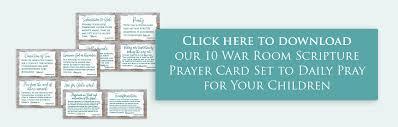 War Room Prayers For Kids Opt In Arabah