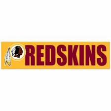 Washington Redskins Stickers Decals Bumper Stickers