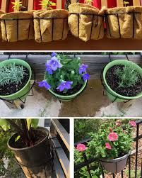 Flower Pot Hangers Home Garden Metal Iron Cheap Flower Pots Planters Wholesale Jiangmen Yuansheng Hardware Co