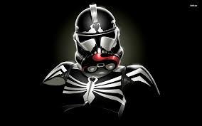 lovely spiderman stormtrooper wallpaper