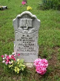 Parthenia Adeline Mitchell (1838-1893) - Find A Grave Memorial