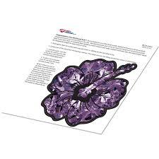 Amethyst Hibiscus Flower Birthstone Decal February Purple Print Sticke Redhoundauto Com