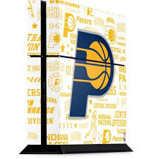 Indiana Pacers Historic Blast Ps4 Console Skin Nba