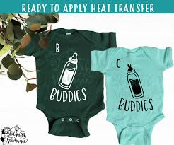Iron On Transfer Or Sticker Decal S350 Drinking Buddies Baby Milk Bottle Stickers By Stephanie