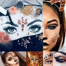plete glitter makeup costume