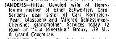 The Genealogy of Bernie Sanders, Part 1.5   The Ginger Jewish Genealogist