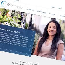 sofia-thomas-tax-website-design - Creative Direction