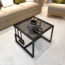 living room modern small glass coffee