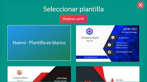 Diseno Tarjeta De Presentacion Visita Gratis For Android Apk