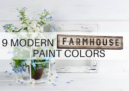 farmhouse style paint colors and decor