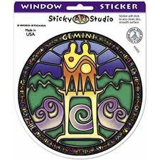 Kk003 Gemini Window Sticker Stickerbiz Com