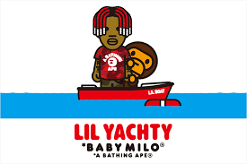 nowhere a bathing ape lil yachty