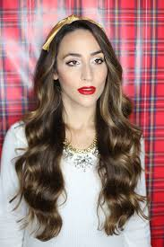 holiday makeup tutorial red lips