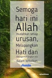 doa bekal hari hari kutipan selamat pagi motivasi kata kata indah