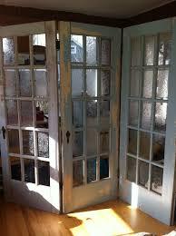antique doors in the garden furniture
