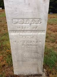 Polly King Brown (1779-1849) - Find A Grave Memorial