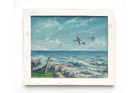ocean wall art coastal decor framed
