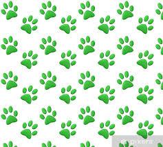 green paw print wallpaper pixers